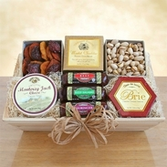 Gourmet Meats & Cheeses Gift Crate