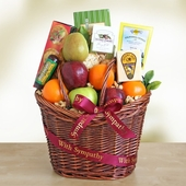 Kind & Caring Gourmet Fruit & Treats Gift Basket