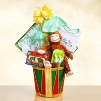 Monkey Baby Christmas Gift Set (Unisex)