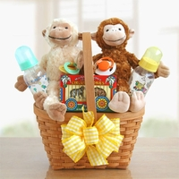 Monkey Business Baby Gift Basket