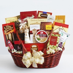 Prayer, Peace and Blessings Sympathy Gift Basket