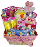 PRETTY PRINCESS EASTER BASKET <p> [ Not In Currently in Season ]