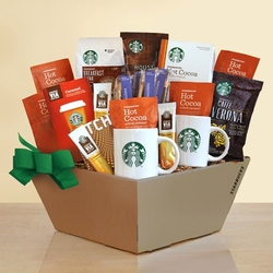 "Quantum Starbucks ""Share the Love"" Gift Basket"