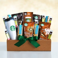 Starbucks Ultimate Kick-Start Gift Basket