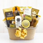 Take Me Away Hazel Spa Gift Basket