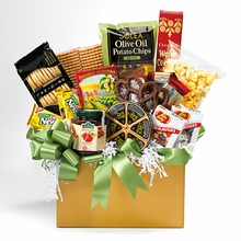 The Savvy Sender Snack Basket