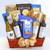 Wine & Gourmet Treasures Grand Gift Basket