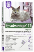 Advantage II For Large Cats Over 9 lbs, 12 Pack