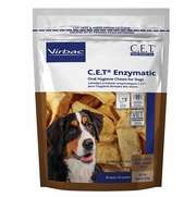 C.E.T. Enzymatic Oral Hygiene Chews For Dogs, X-Large 30 Chews