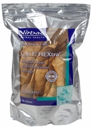 C.E.T. HEXtra Premium Chews with Chlorhexidine for Dogs, 30 Extra Large Chews