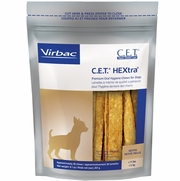C.E.T.  HEXtra Premium Chews with Chlorhexidine for Dogs, 30 PETITE