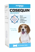 Cosequin Bonelets Hip & Joint Support Supplement - Dogs, 75 Chew Tabs