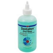 Dentahex Oral Rinse With Chlorhexidine & Zinc, 8 oz.