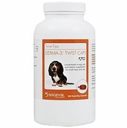 Derma-3 Twist Caps For Small Dogs & Cats, 250 Capsules