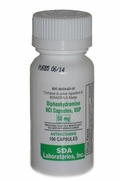 Diphenhydramine HCL 50 mg, 100 Capsules