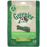 Greenies Weight Management Treats For Dogs 5-15 lbs, Teenie, 43 Daily Treats