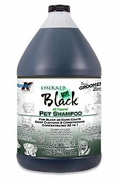 Groomer's Edge Emerald Black Pet Shampoo, Gallon