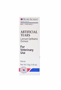 Henry Schein Artificial Tears Lubricant Ophthalmic Ointment 1/8 oz