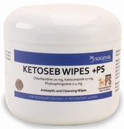 Ketoseb Wipes +PS, 60 Wipes