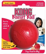 KONG Biscuit Ball Dog Toy For Small Dogs Up to 20 lbs