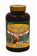 NaturVet Glucosamine DS-MSM-Chondroitin, Stage 2 Max, 60 Chew Tabs