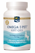 Nordic Naturals Omega-3 Pet for Dogs and Cats, 90 Soft Gels