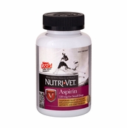 Nutri-Vet Aspirin 120mg For Small Dogs, 100 Chewables