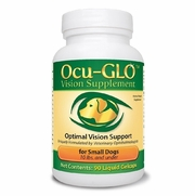 Ocu-GLO Vision Supplement for Small Dogs Under 10 lbs, 90 Gelcaps