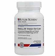 Omega FF Twist -Tip Caps For Small Dogs & Cats, 60 Capsules