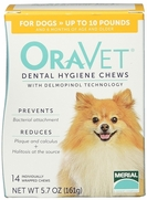 Oravet Dental Hygiene Chews X-Small Dogs Up to 10 lbs, 14 Chews