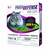 ParaDefense For Large Cats Over 9 lbs, 4 Pack