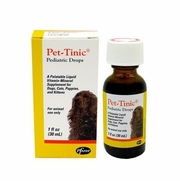 Pet-Tinic Pediatric Drops for Dogs, Cats, Puppies and Kittens, 1 oz. (30 ml)