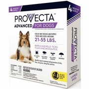 Provecta Advanced For Large Dogs 21-55 lbs, 4 Doses