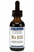 Rx Vitamins Rx B12 For Dogs & Cats, 4 oz