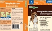 Sentry HC WormX Plus 7 Way De-Wormer Small Dog, 2 Chewable Tablets