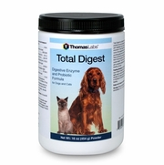 Thomas Labs Total Digest Digestive Enzyme & Probiotic Formula For Pets, 16oz Powder
