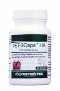 Vet-3Caps HA For Large Breeds, 60 Softgels, Green