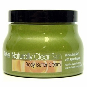 Biocare Labs Naturally Clear Skin Body Butter Cream
