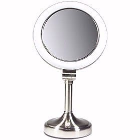 Zadro Lighted Make Up Mirror 1x 8x Vanity Clv581