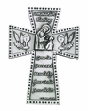 5 Inch Antique Pewter Communion Boy Cross