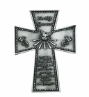 5 Inch Antique Pewter For My Sponsor Wall Cross