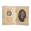 "8"" x 5"" Metal Photo Frame for Girl Confirmation"