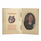 "8"" x 5"" Metal Photo Frame for Granddaughter's Confirmation"