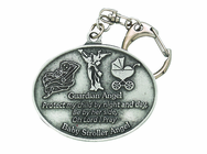 Baby Girl Stroller Guardian Angel Clip On