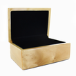 HIGH GLOSS PIANO FINISH GENUINE OAK KEEPSAKE BOX