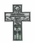 Rite Of Christian Initiation Pewter Cross