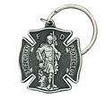 St. Florian Protect Us Firefighter Key Chain