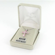 """Sterling Silver June Crucifix on 18"""" chain"""
