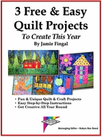 "Download ""3 Free & Easy Quilt Projects"" by Jamie Fingal"
