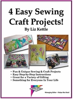 "Download ""4 Easy Sewing Craft Projects"" By Liz Kettle"